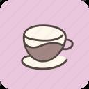 cafe, coffee, coffeeshop, cup, drink, espresso, tea icon