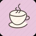 cafe, cappuccino, coffee, coffeeshop, drink, hot, tea icon