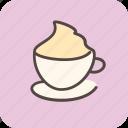 cafe, cappuccino, coffee, coffeeshop, cream, drink, tea
