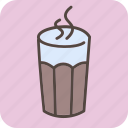 cafe, coffee, coffeeshop, drink, glass, hot, tea icon