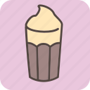 cafe, coffee, coffeeshop, cream, drink, restaurant, tea icon