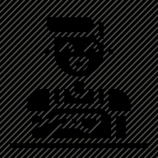 avatar, barista, cafe, coffee, restaurant icon