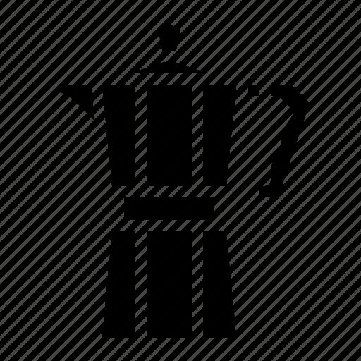 Cafe, coffee, moka, pot, restaurant icon - Download on Iconfinder