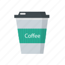cafe, coffee, drink, hot coffee icon