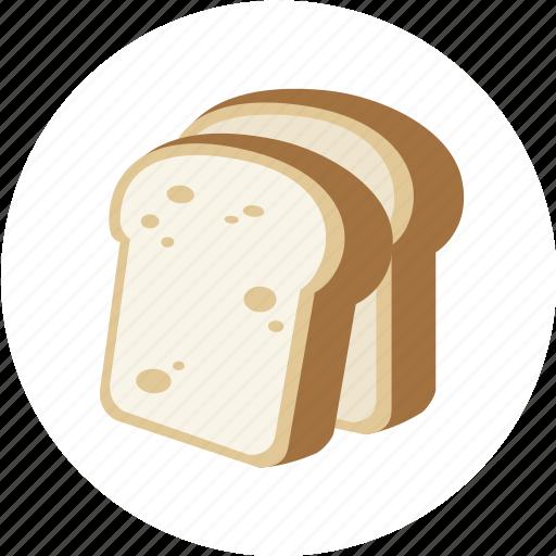 baked, bakery, baking, bread, sweet icon
