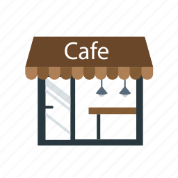 cafe, coffee shop, restaurant, shop, store icon