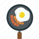 breakfast, cook, egg, food, omelette icon