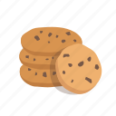 bakery, biscuits, cookie, dessert, sweet icon
