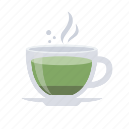 cafe, coffee, drink, greentea, hot drink, matcha, tea icon