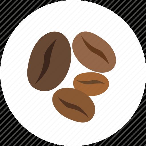 caffeine, coffee, coffee bean icon