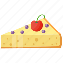 cake slice, caramel cake, cheesecake, confectionery, sweet dessert icon
