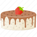 black forest cake, chocolate sponge cake, chocolate topping, coffee cake, confectionery icon