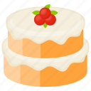 cheesecake, cheesecake layer cake, confectionery, cream frosting, dessert cake icon