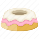 angel food cake, bundt cake, frosting cake, pudding, sweet dessert icon