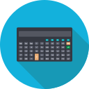 calculater, calculation, calculator, finance, math, mathematics icon