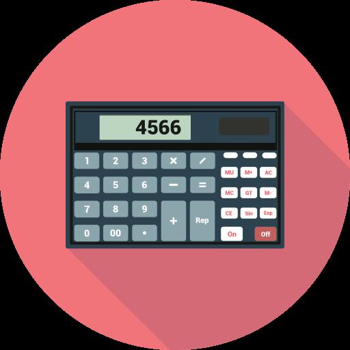 calculater, calculation, calculator, finance, math, mathematics icon