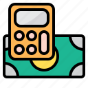business, calculator, math, payment, tool icon