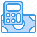 business, calculator, payment, tool icon