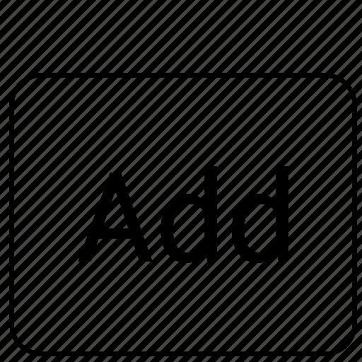 add, calculator, function, math icon