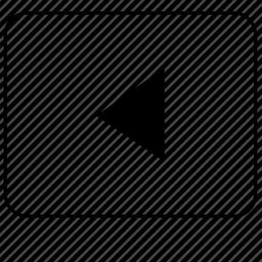 arrow, calculator, function, left, operation, program, ui icon