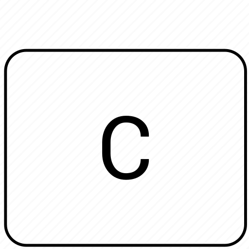 c, calculator, function, math, operation icon