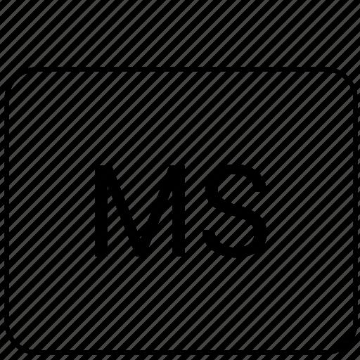 calculator, function, ms, program icon