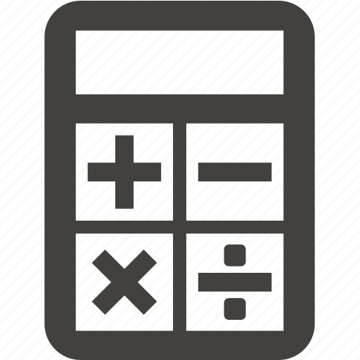 business, calculator, electronics, mathematics, office icon