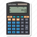 calculator, calculator machine, math, mathematics icon