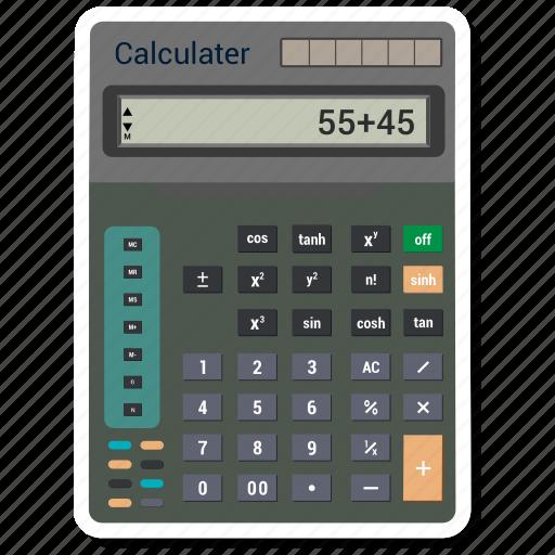 accounting, calculator, finance, financial icon