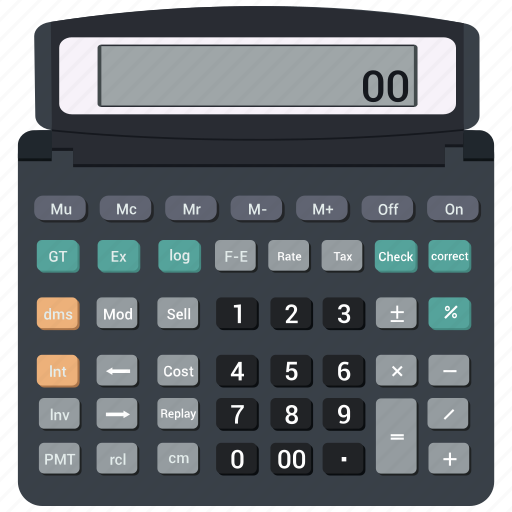 business, calculator, device, pro icon