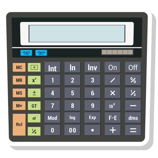 Calculator, math, value icon - Free download on Iconfinder