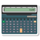 calc, calculating, calculator, digital icon