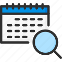 day, planner, month, find, date, calendar, search