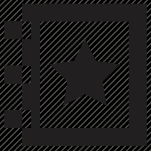 calendar, date, favourite, task icon