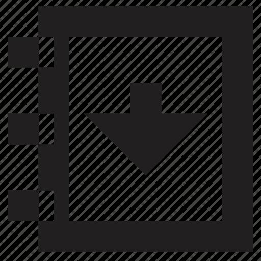 calendar, date, previous, task icon