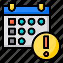 alart, schedule, reminder, agenda, calendar, date