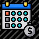 debt, schedule, reminder, agenda, calendar, date