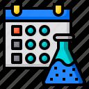 lab, schedule, reminder, agenda, calendar, date