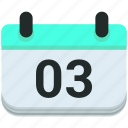 calendar, events icon