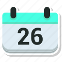 calendar, day, event, schedule icon