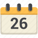calendar, date, day, event, schedule