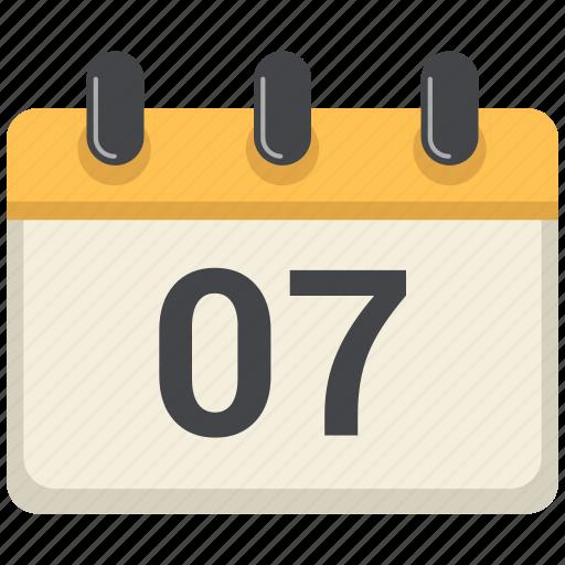 Date, calendar, day, schedule icon