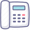 contact, number, support, telephone icon