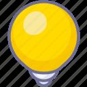 brightness, light, online icon