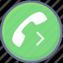 call, calling, diversion icon