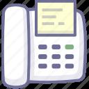 electrograph, facsimile, fax, portraiture icon