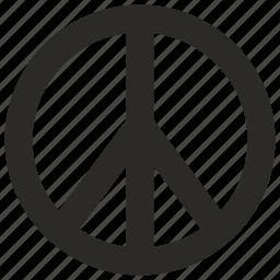 calm, peace, world icon