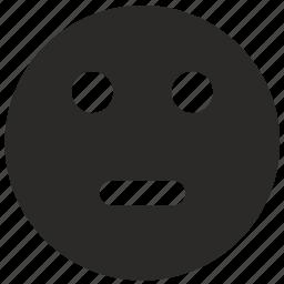 calm, face, keep, smile, smiley icon