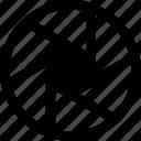 camera, lens icon