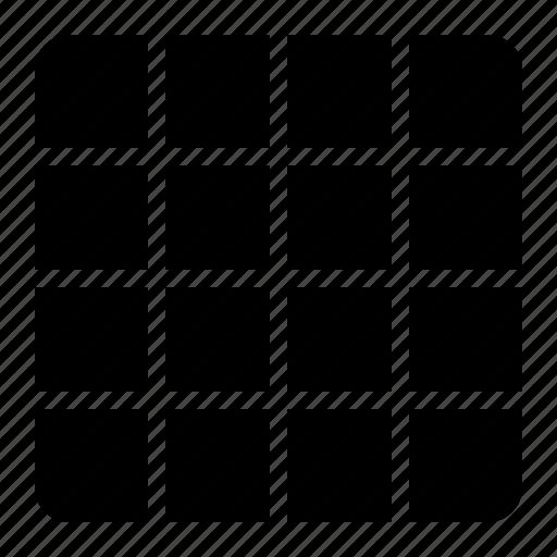 design, grid, layout, shape, wireframe icon